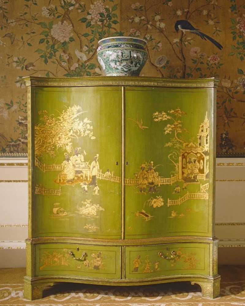 Thomas Chippendale's Japanned Clothes Press