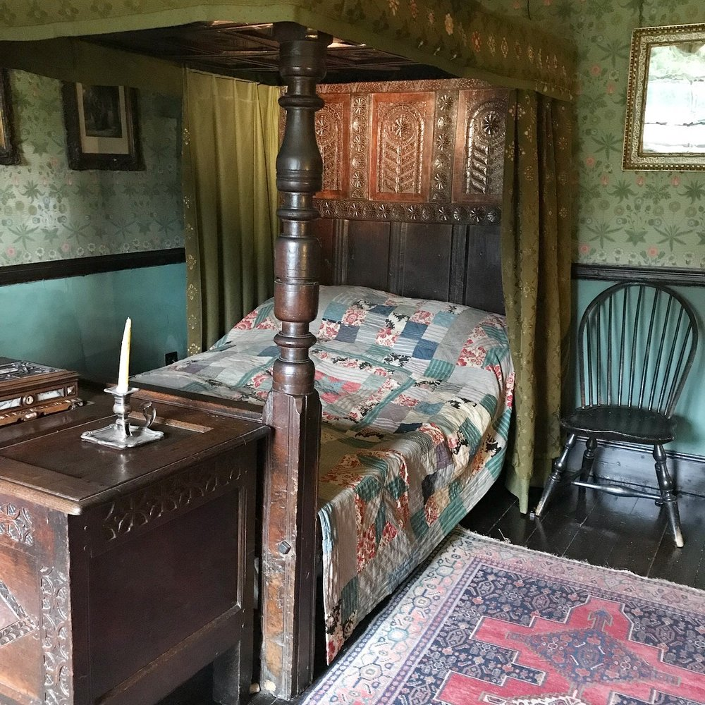 Hill Top's Intimate Master Bedroom.