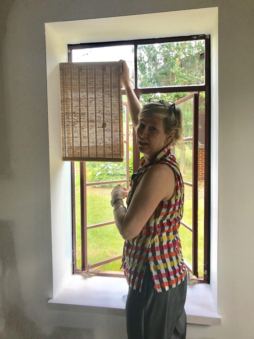 Finalizing the Window Treatments