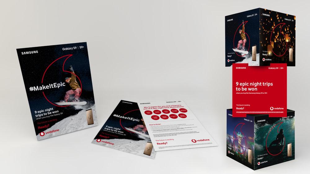 Samsung Vodafone Promotion