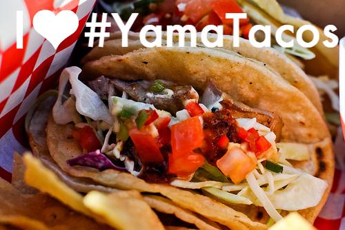 I heart yama tacos