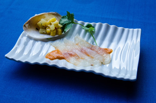 Grouper Sashimi