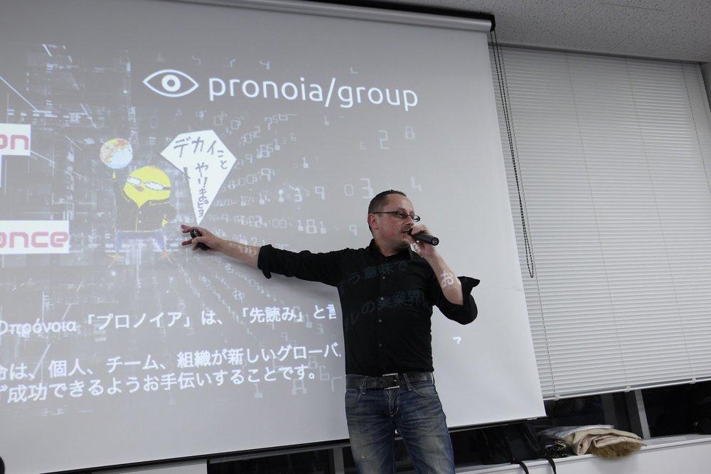 Google HR部門元アジアトップのピョードル氏による講演会