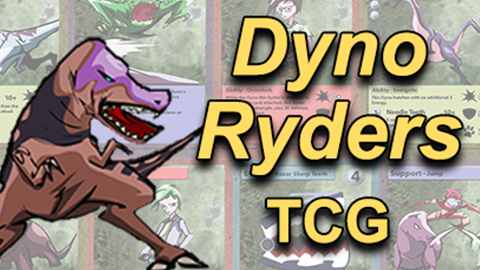 DYNO RYDERS  Trading Card Game
