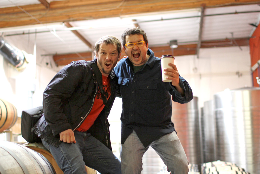 Hardy Wallace and Matt Richardson of Dirty and Rowdy Wine
