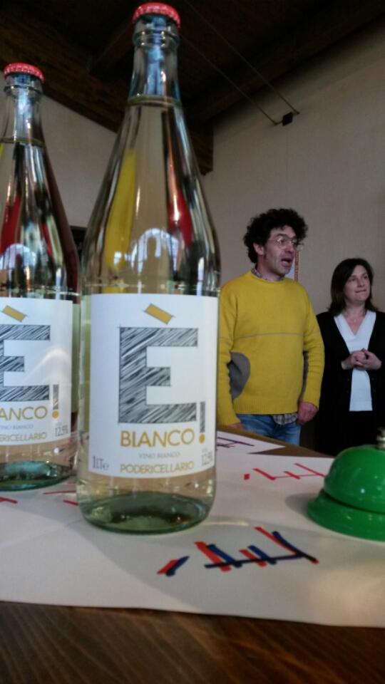 Fausto and Cinzio Cellario with the E Bianco. Source: devenishwinesgeek.typepad.com