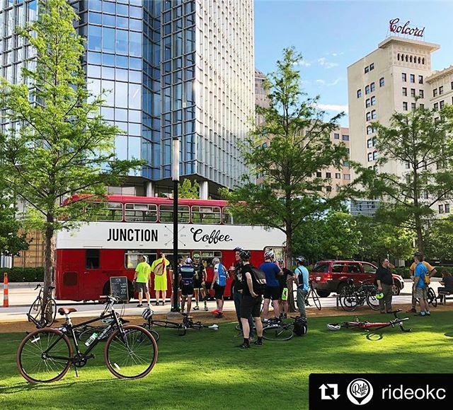 #Repost @rideokc with #BikeToWorkDay 🚲😍 #bikeshop #okc #ridetolive #livetoride #explore #optoutside #coffeelover #beautifulcity
