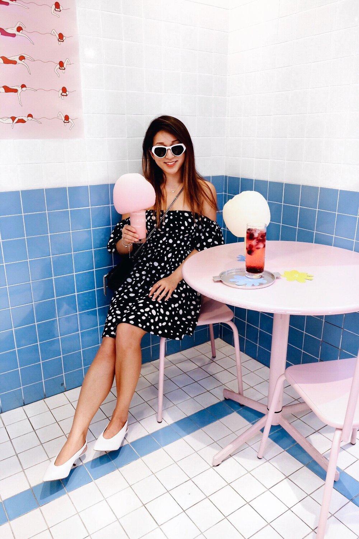 style nanda- pink pool cafe-margaret nam