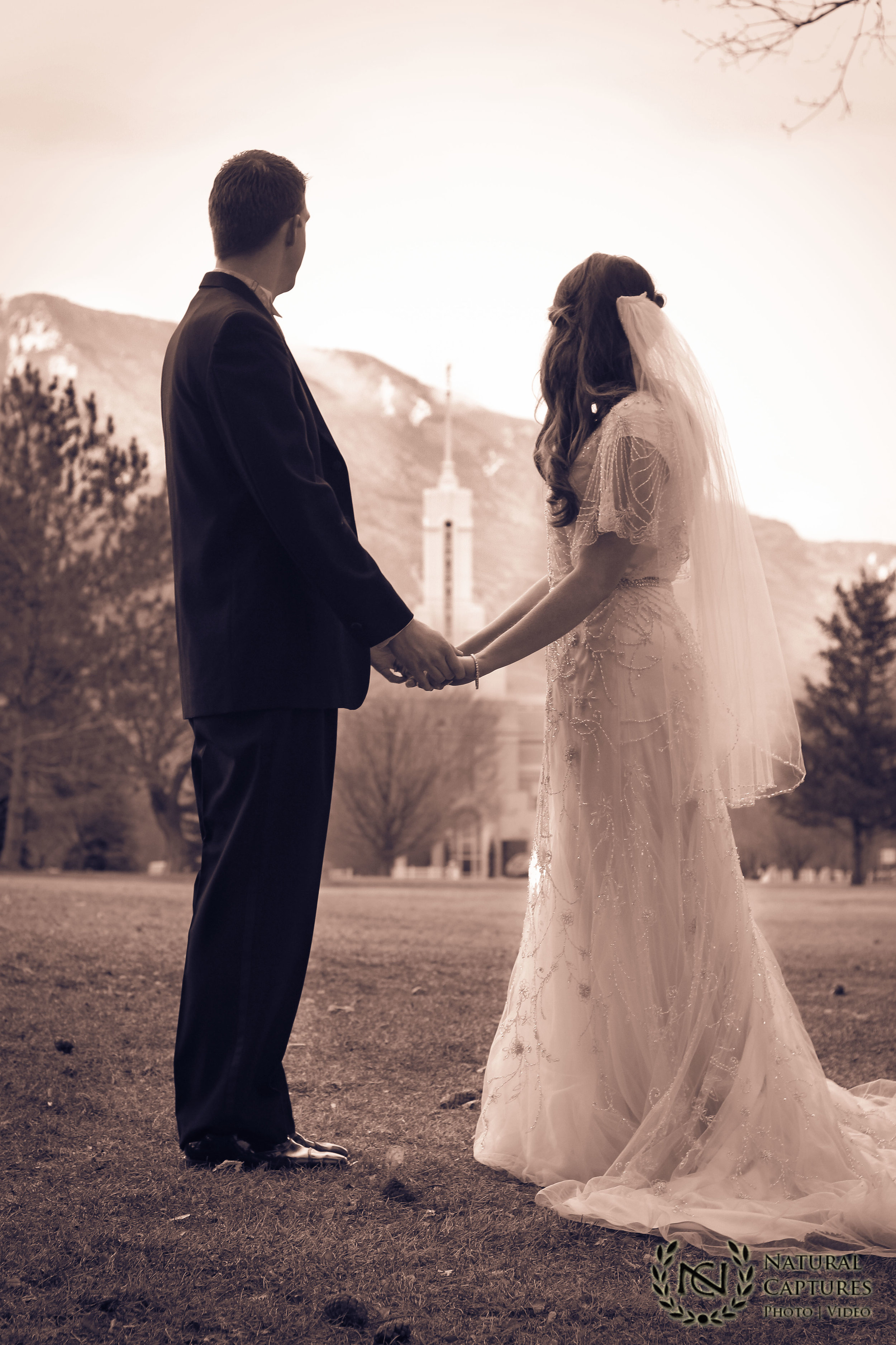 Mount Timpanogas Temple - Wedding Photo