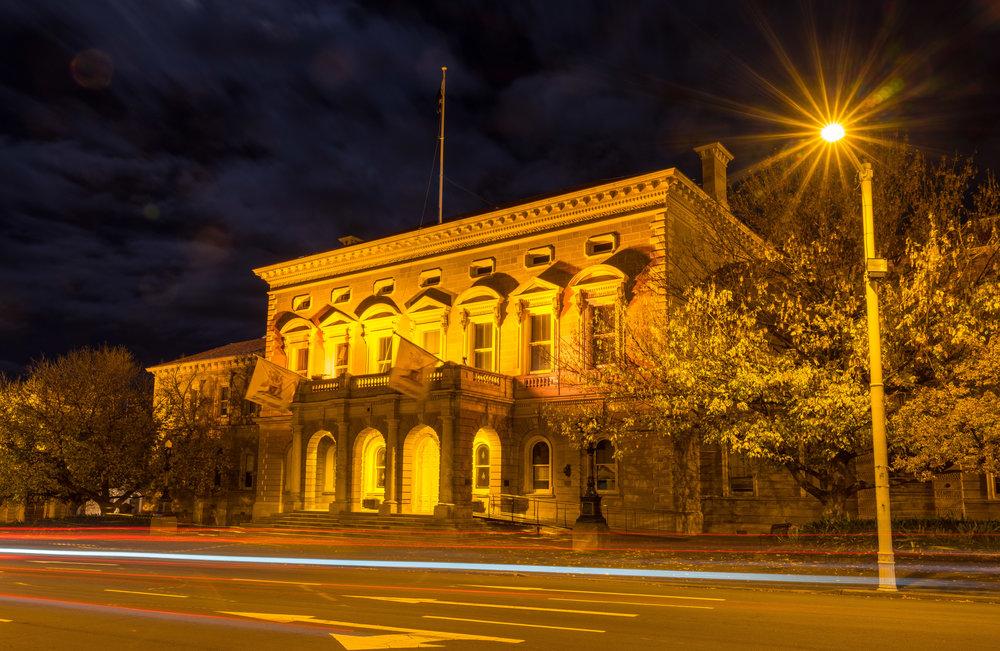 Tasmania -  Hobart Town Hall.JPG