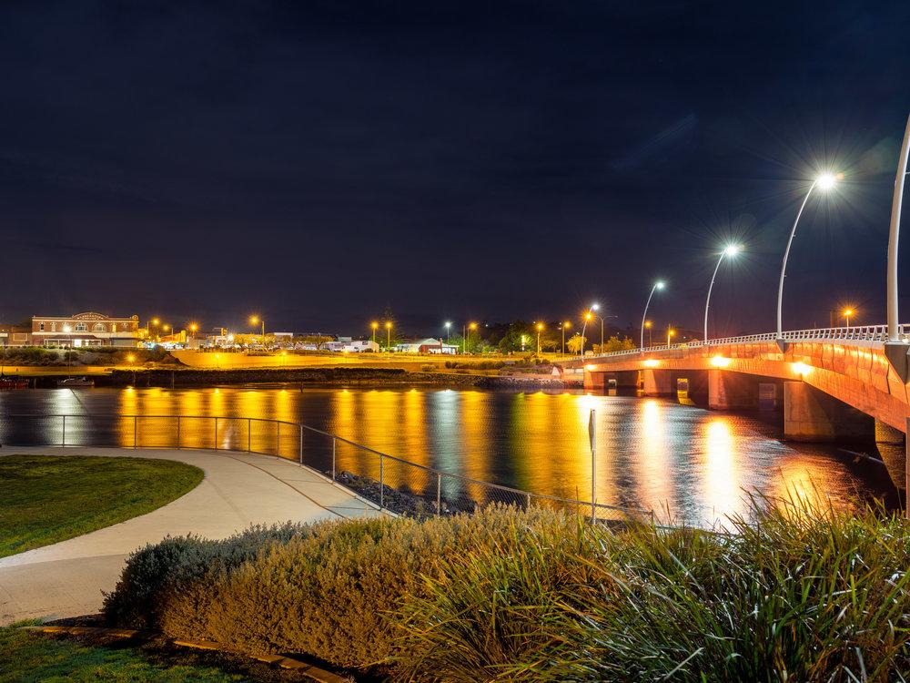Tasmania - Leven Bridge - Ulverstone.JPG