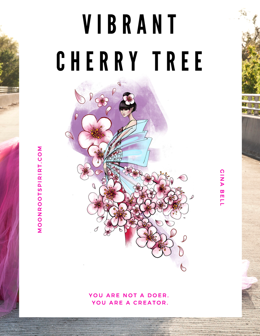 COVER VIBRANT CHERRY TREE
