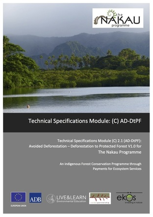 All projects in the Nakau Programme are required to apply a Technical Specifications Module covering measurement, reporting and verification (MRV) of carbon benefit impacts delivered by a project.  The TS Module applied in the Loru Project is a carbon accounting methodology applicable to projects that avoid deforestation: Avoided Deforestation - Deforestation to Protected Forest (AD-DtPF). This Technical Specifications Module was validated to the Plan Vivo Standard in 2016.