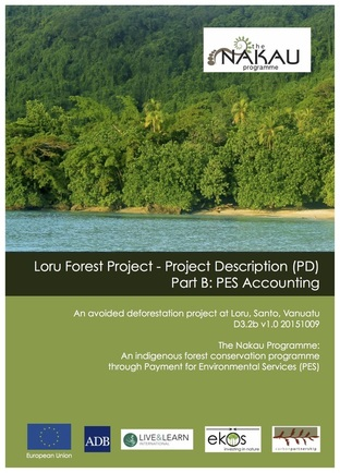 This document is the Project Description (Part B) for the Loru Project.  This involves the application of the Technical Specifications Module to the project site - quantifying the climate benefits to be delivered by the project once implemented. The Loru PD (Part B) was validated to the Plan Vivo Standard in 2016.