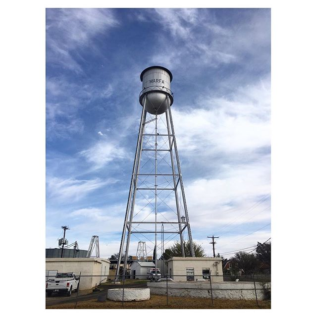 #Marfa #watertower