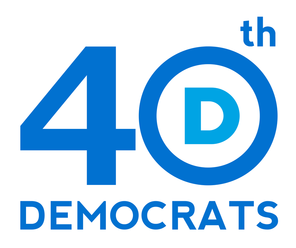 40th LD Democrats Logo