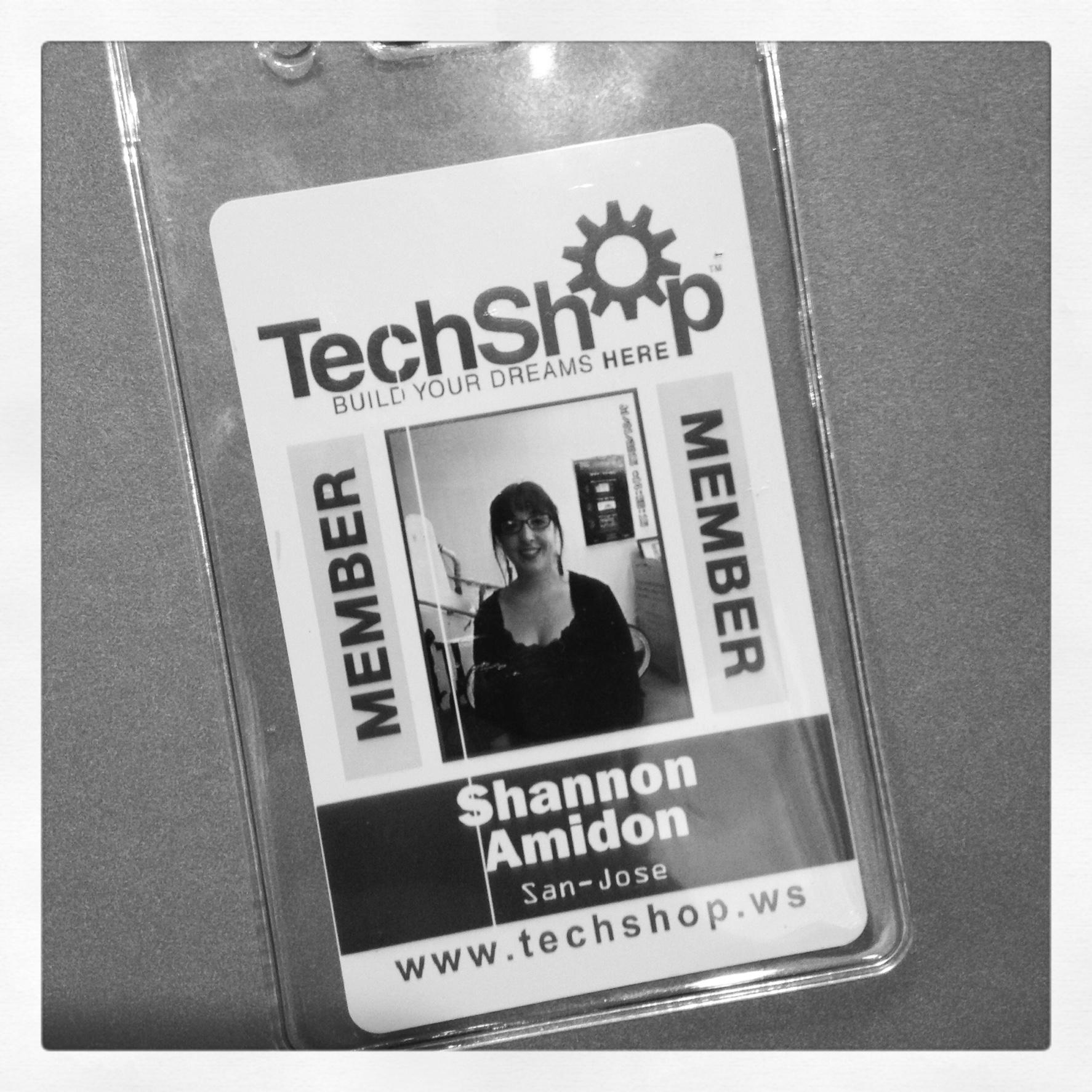 My Tech Shop membership badge
