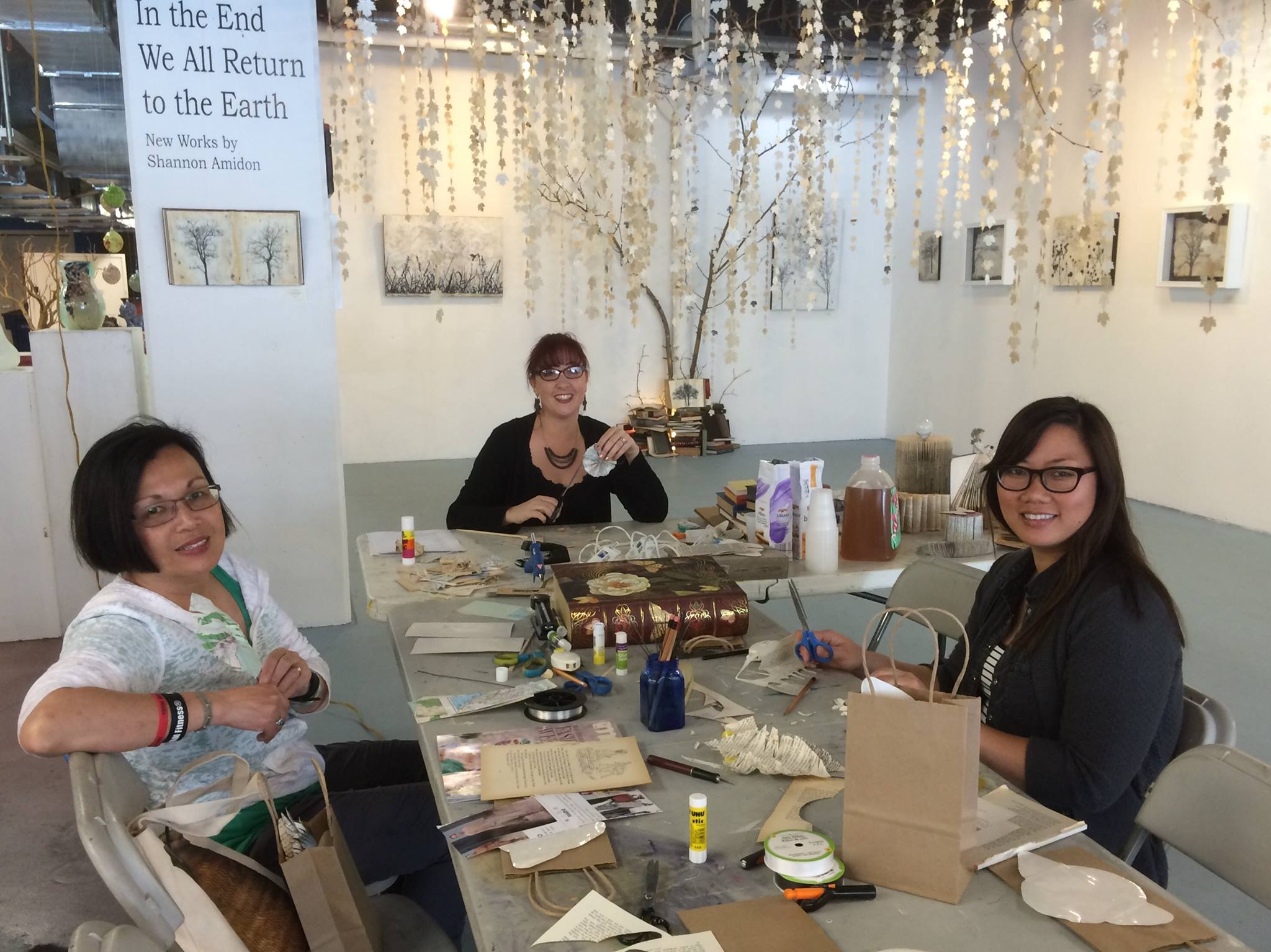Book Arts Workshop at KALEID Gallery