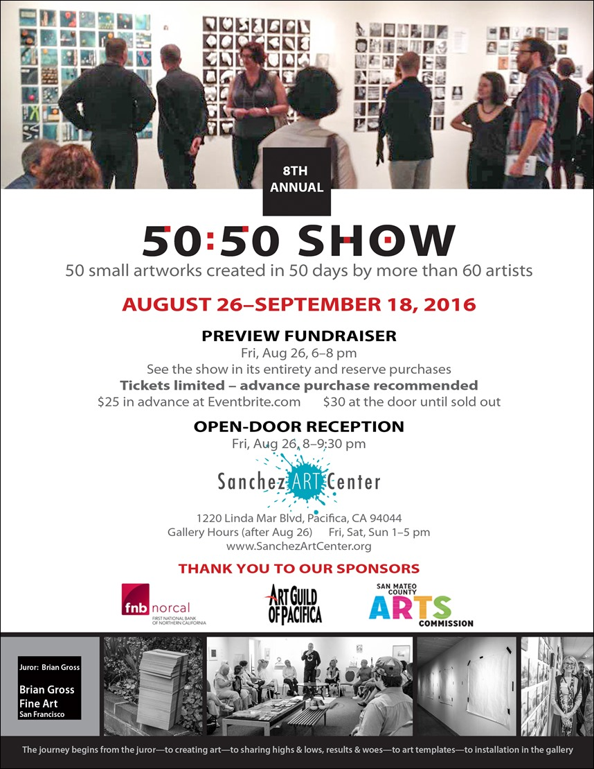 Sanchez Art Center 50|50 Show