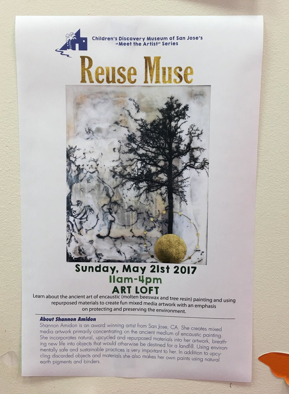 Reuse Must at Children's Discovery Museum