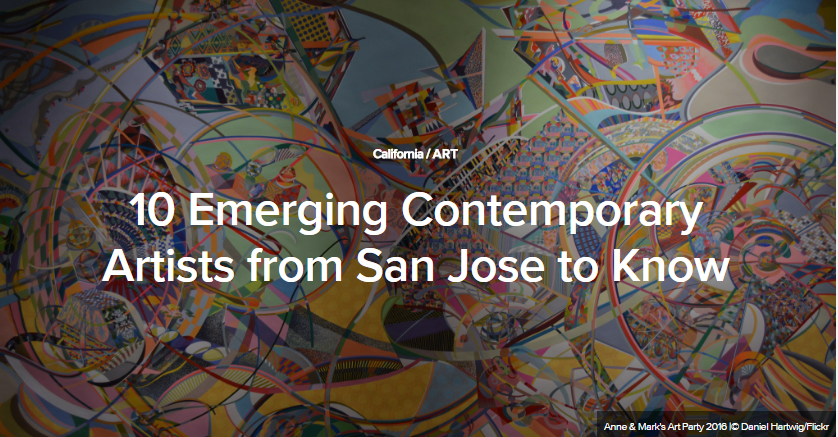 10 Emerging Contemporary Artists from San Jose to Know