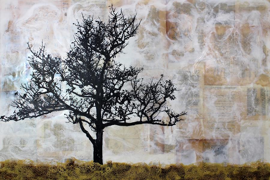 """Tree Poem - 24"""" x 36"""""""