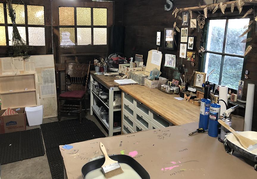 A peek inside the new studio