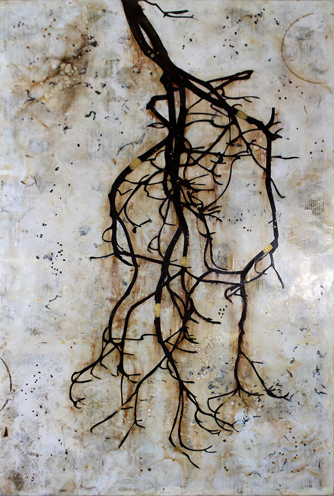 """Unearthed - 36"""" x 24"""""""