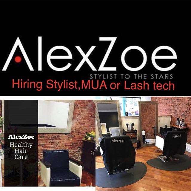 My long time friend and hair stylist @alexzoehairstudio is looking to expand her services. If you got the skills, she's looking for you! Inquire on her page.