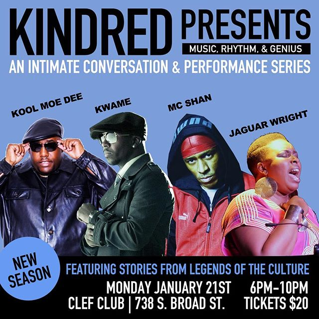 The Return Of #kindredpresents with a lil Neo Soul and some Old School classics #ticketsonsalenow #linkinbio 1/21 @clefclubofjazz @kindredpresents