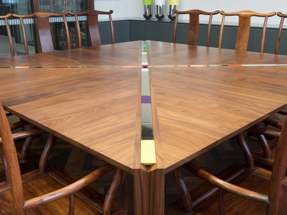 Abacus Table - private commission by  Adam Goodrum