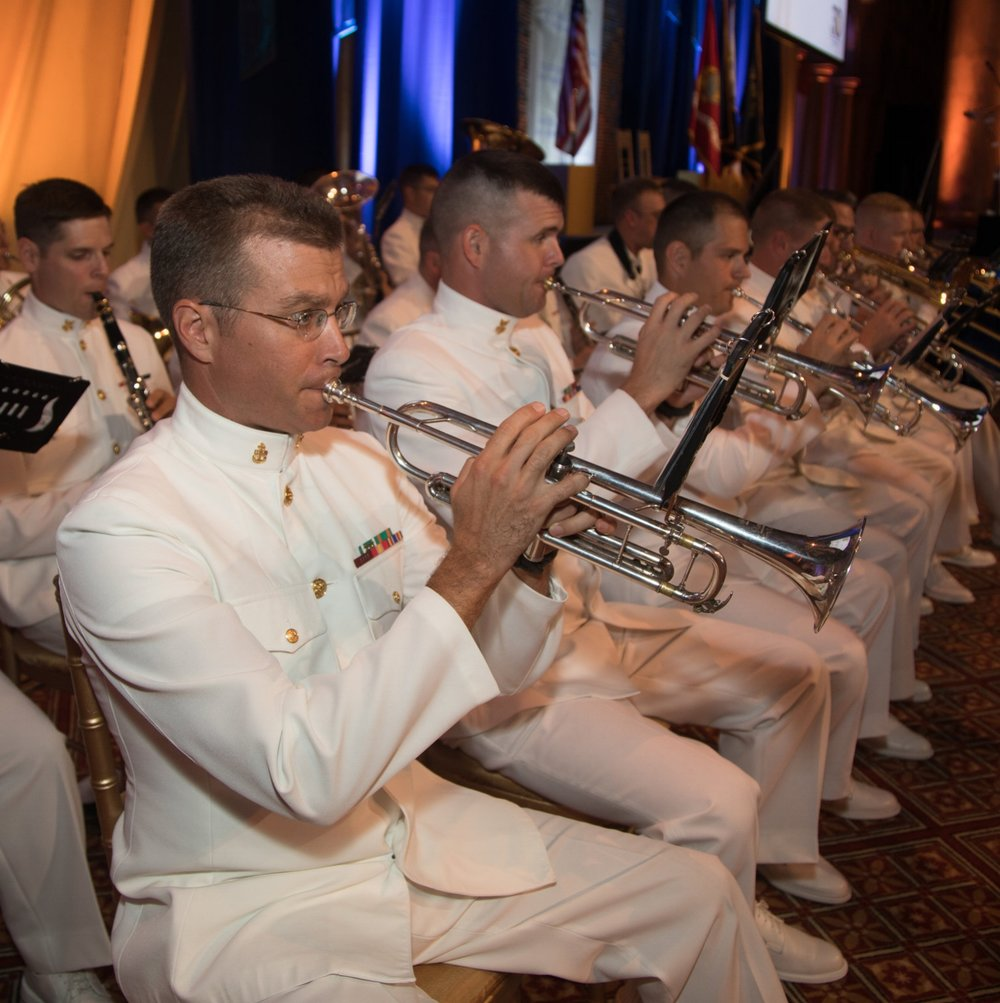 The United States Navy Band at the 2017 Lone Sailor Awards Dinner