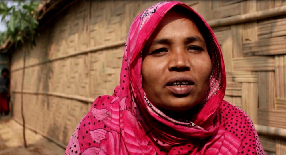 Photo caption: Rehana Begum, Cox's Bazar, Bangladesh. Credit: Asafuzzaman/CARE Bangladesh. Date: February 2018.