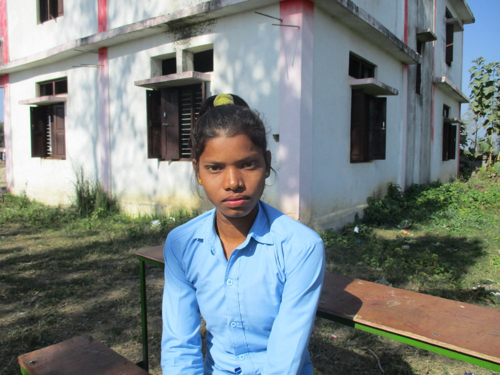 Caption: Urmila is a 17-year-old adolescent girl who lives in Western Nepal. Date: December 2017. Credit: Plan International Australia.