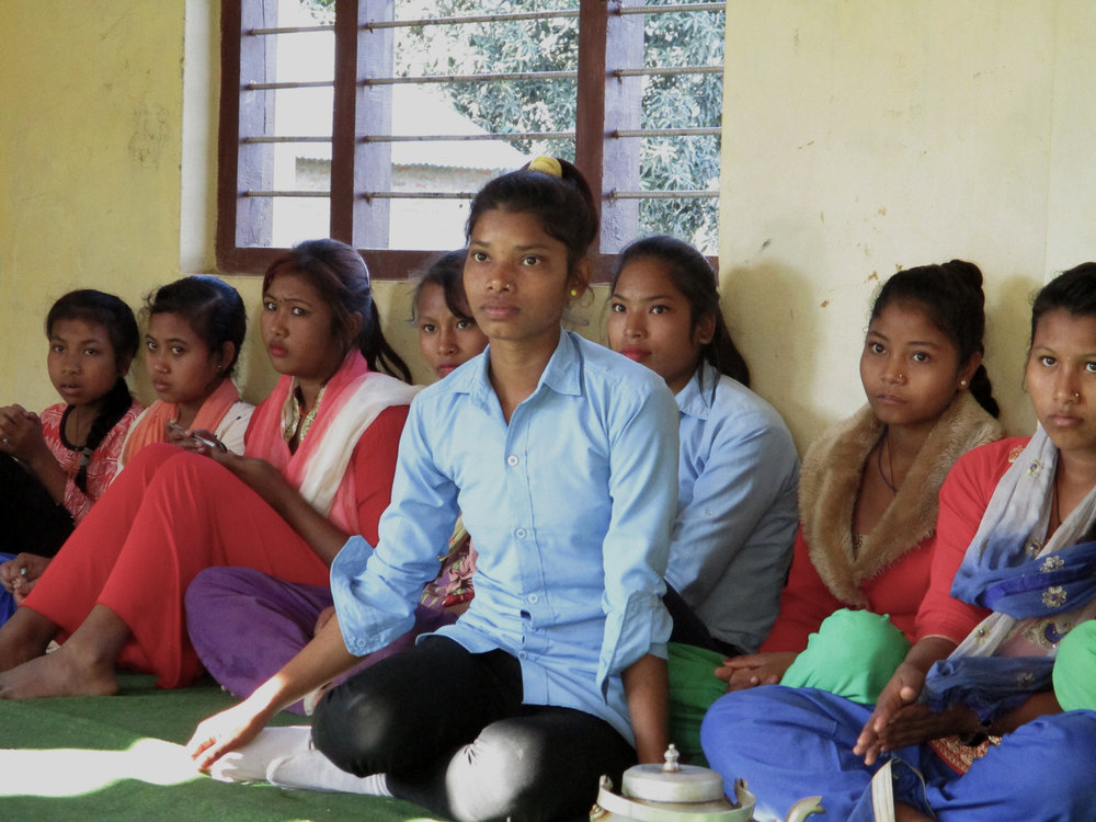 Caption: The Adolescent Friendly Spaces were set up to create a space for adolescent girls to talk about the issue that matters them during the emergencies. Date: December 2017. Credit: Plan International Australia.