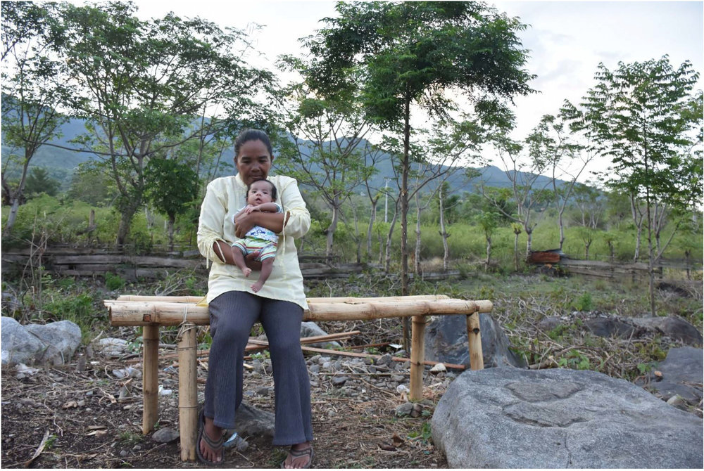 Above: Surahmi and her son, Rahmat. Photo Credit: Roy Rey, YSTC.
