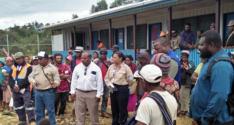 Above: The PNG Church partners undertook a joint needs assessment in March 2018.