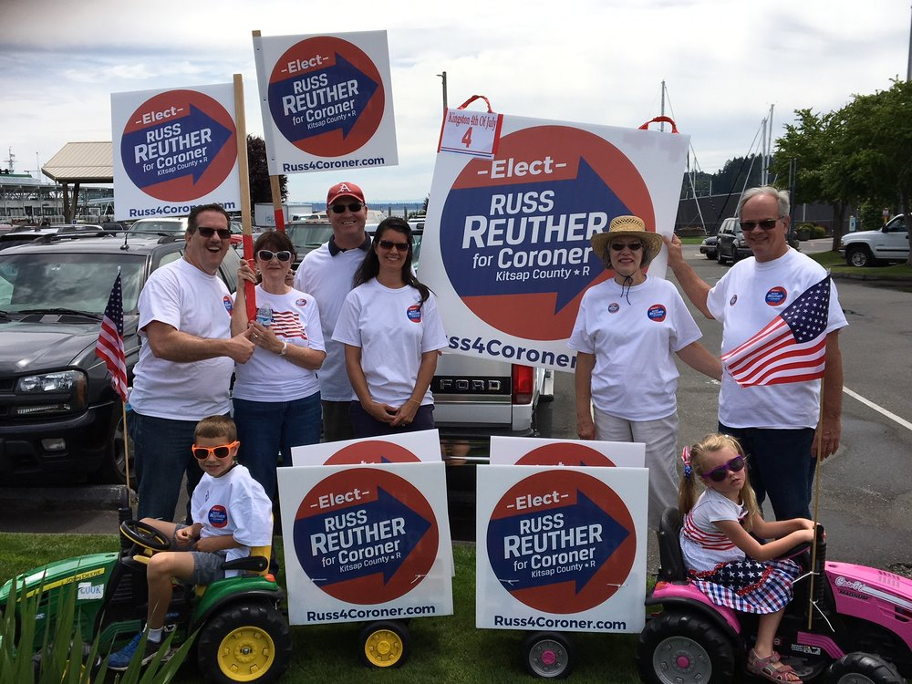 Fun at the Kingston Parade on July 4th! -