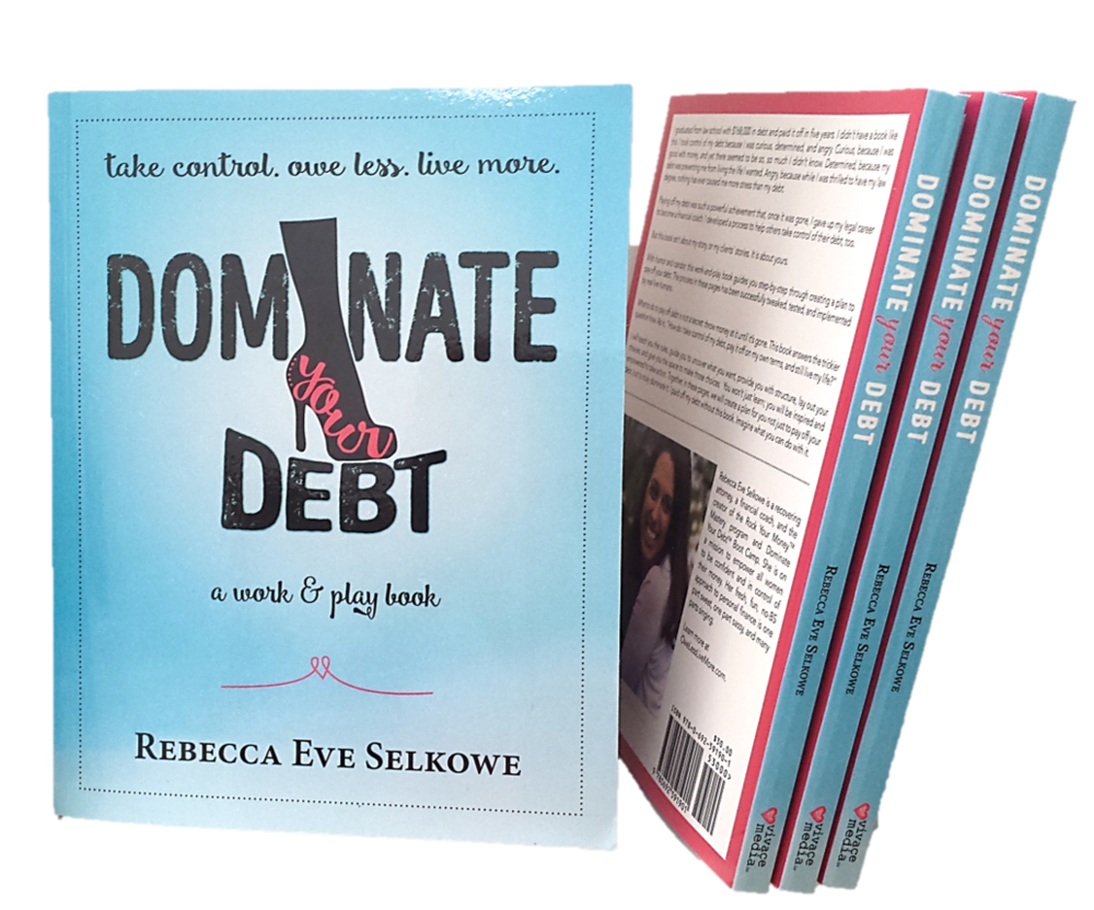 Dominate Your Debt: A Work & Play Book - Dominate Your Debt guides you, without judgment, through understanding both yourself and your debt. As you read, write, and play your way through the pages, the work you do in the book becomes your playbook for taking control. By the end you will have a plan not just to pay off your debt, but to truly dominate it.