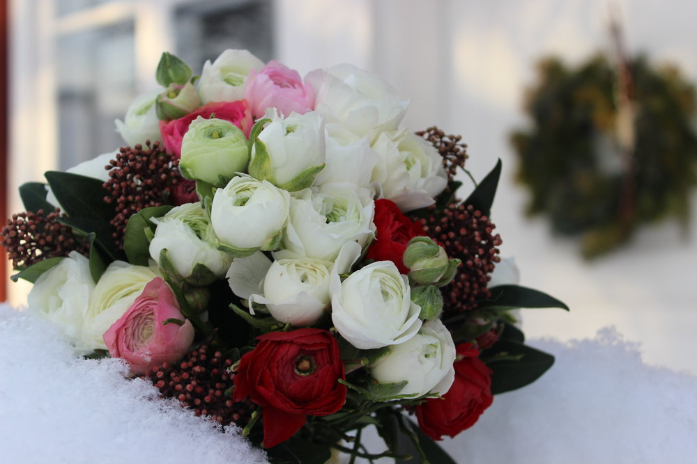 Winter Floral Example. Photo: Isabell Schulz