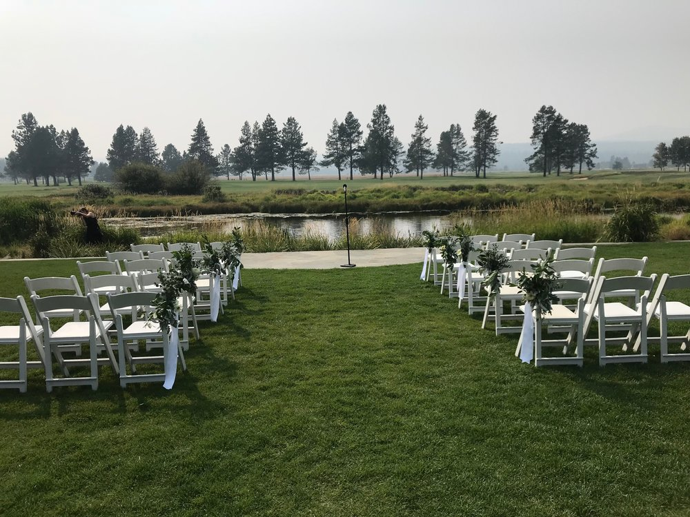 Bend Floral Artistry  - Sunriver Oregon Wedding.