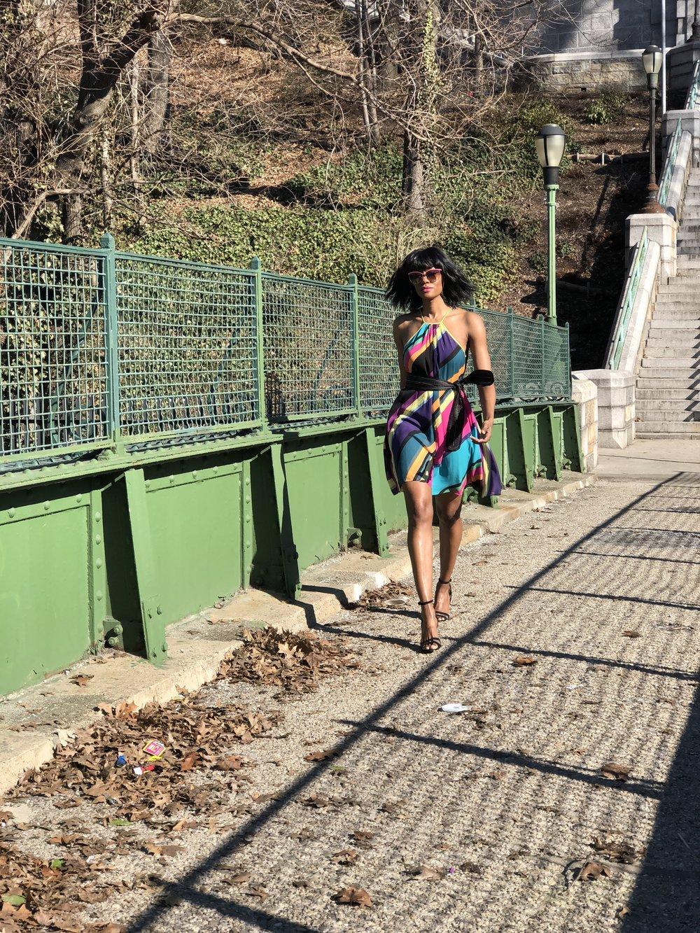 Dress: Catherine Malandrino