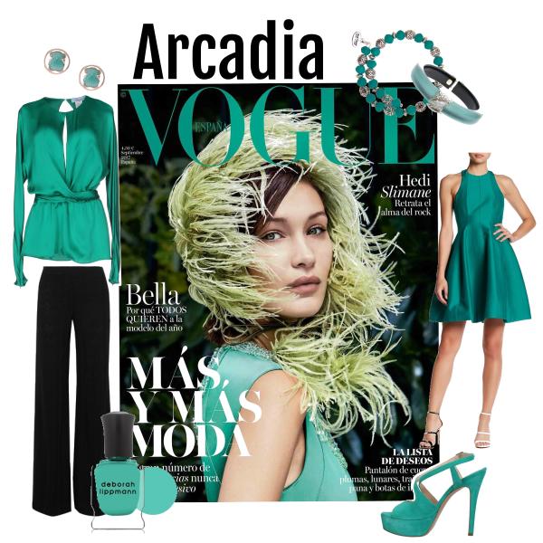 Pantone 16-5533 Arcadia Green