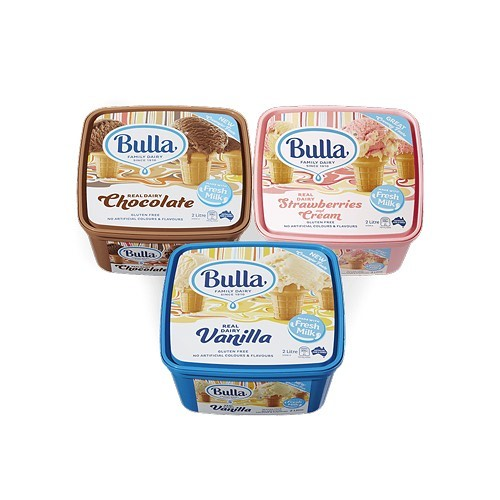Legends! A massive thanks to @bullafamilydairy for coming to the rescue and re-stocking our ice cream supplies & @pfdtransport for delivering it for #abcsmashastrawberrysundae @thecommongoodau #thankyou
