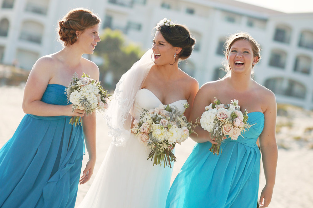Bride and Bridesmaid Photo