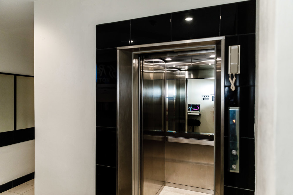 Lift Access to All Hotel Rooms