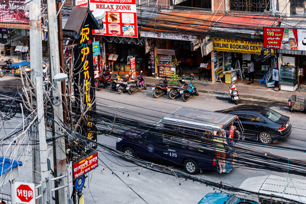 Metres to 2nd Rd Baht Buses