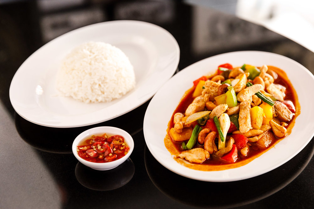 Order from our Thai and Western  Menus