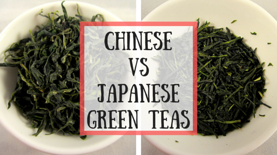 Chinese vs Japanese Green Teas