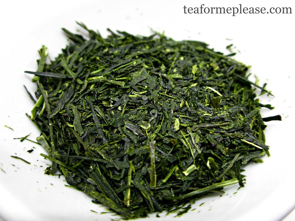 Sencha - the most common type of Japanese green tea